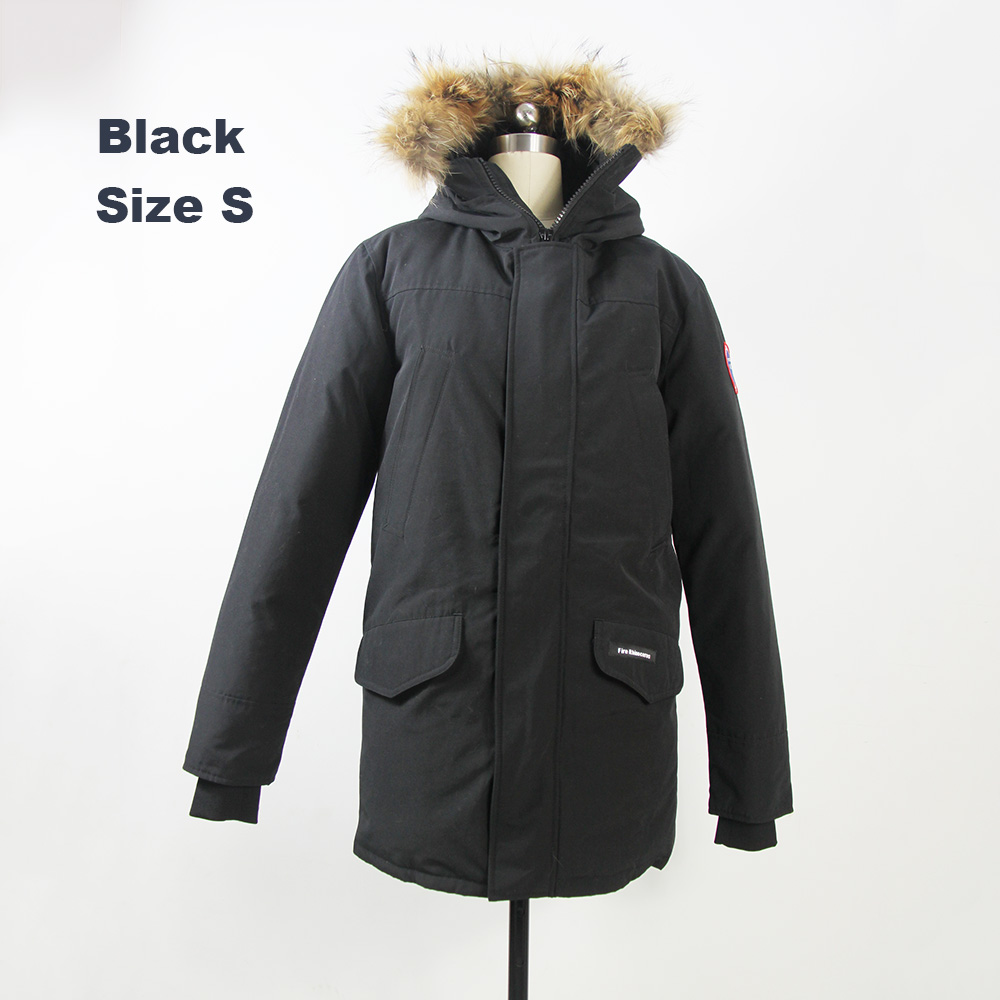 2018 Brand New Mens White Duck Down thick Winter Coat Langford Parka slim fit