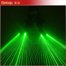 Strong Green Laser Glove 40pcs green lasers hot sell DJ party laser glove Event & Party Supplies