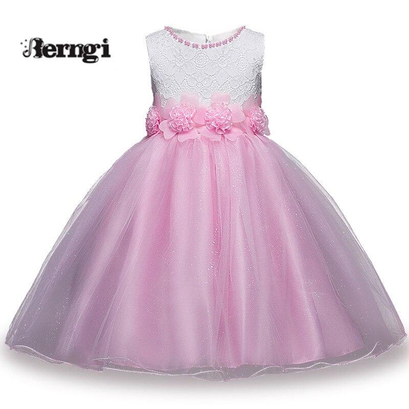 a1a43480e Princesa niños bebé vestido de boda elegante lentejuelas vestido de fiesta  Formal para niñas tutú niños