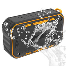 New recommended outdoor waterproof IP67 Bluetooth speaker 6W portable audio hands-free calling