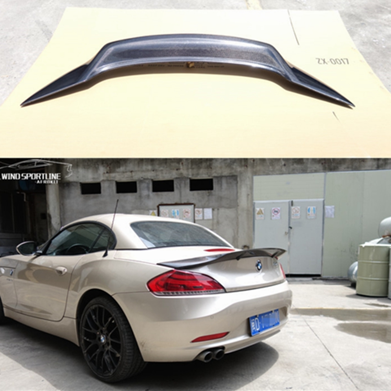 real photo BMW Z4 E86 COUPE DUCKTAIL LOOK REAR BOOT SPOILER
