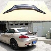 For BMW Z4 E89 Coupe Car Decoration 18i 20i 23i 28i 30i 35i Carbon Fiber Rear Trunk Spoiler 2009 2014 R Style