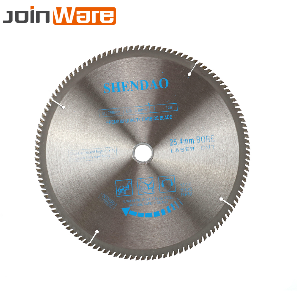 1Pc 250mm 120T Carbide Circular Saw Blade Woodworking Cutting Disc For Wood 250mmx3x25.4x100T Cutter Power Tool