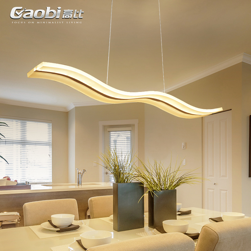 Modern hanging lamps Nordic restaurant suspended lamp home dining room Lighting Fixtures Acrylic pendant lights