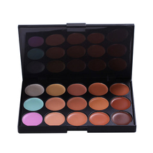 15 Earth Colors Professional Matte Eyeshadow Palette Pigments Makeup Shining Eyeshadow Palette Powder Contour Cosmetic Set 120 vivid charming colors eyeshadow with gold leather clutch bag shaped case professional makeup kit cosmetic set