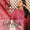 Summer Silk Cotton Fabric Printing Dress Fabric Soft Silk Fabric Rose Red Fashion Cotton Fabric Wholesale