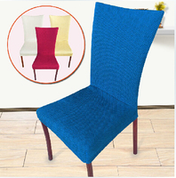 Dining room Chair Back Cover Hotel Chair Cover Banquet / office/restaurant Elastic cloth cover suit wedding bar chair cover
