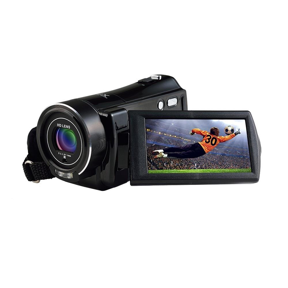 Ordro HDV-V7 WIFI 1080P Full HD Digital Video Camera Camcorder 24MP 16X Zoom Recoding 3.0 LCD Screen remote control