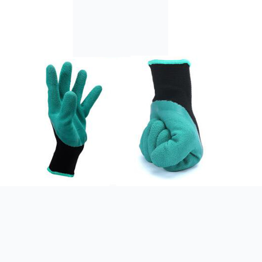 Meetcute Latex Garden Gloves For Digging U0026 Planting With 4 ABS Plastic  Claws Gardening Gloves In Household Gloves From Home U0026 Garden On  Aliexpress.com ...