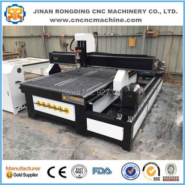 Snadné ovládání Čína cnc stroj, dřevo cnc cena stroje, cnc - Zařízení na obrábění dřeva - Fotografie 1