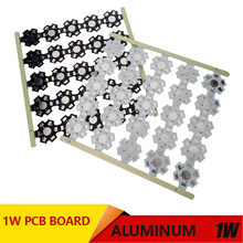 1W 3W LED Heat Sink Aluminum Base Plate PCB Board Substrate 20mm Star RGB RGBW DIY Cooling for 1 3 W Watt LED(China)