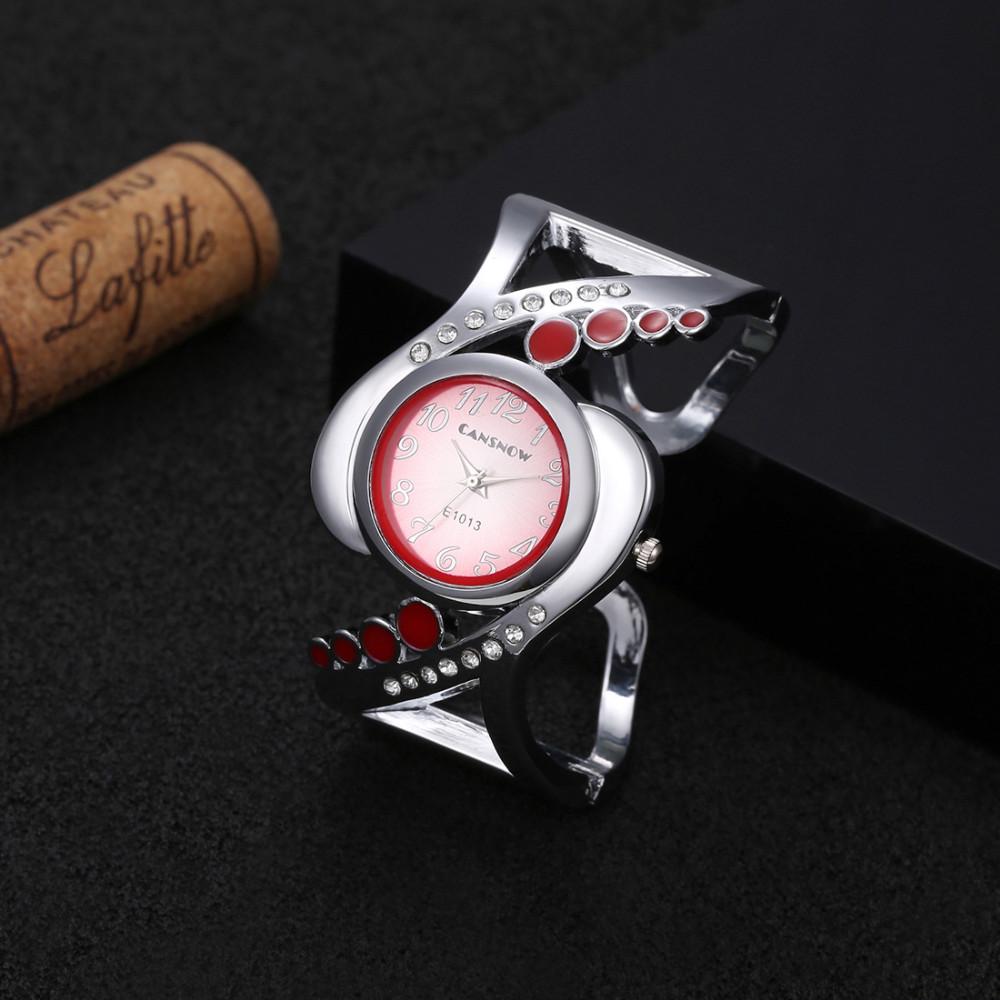 New design women bangle wristwatch quartz crystal luxury relojes rhinestone fashion female watches hot sale eleagnt mujer watch 17