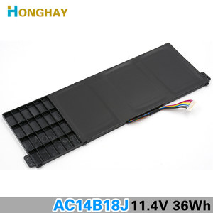 Image 5 - HONGHAY AC14B18J New Laptop Battery for Acer Aspire E3 111 E3 112 E3 112M ES1 531 B116 MS2394 B115 MP AC14B13j N15Q3 N15W4