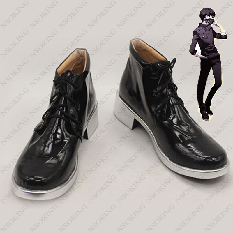 2018 Japan Cartoon Tokyo Ghoul boots Japanese Anime kaneki ken Cosplay Shoes