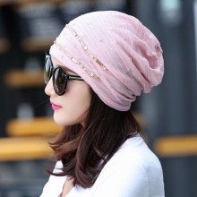 Women Rhinestone Hats Fashion Hat