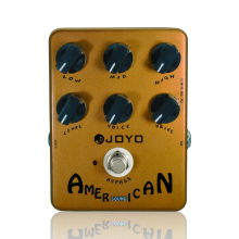 Guitar Effects American Sound Guitar Amp Simulator Effect Pedal JOYO JF-14 Guitar Accessories Parts Effects недорого