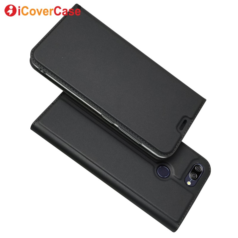 Fashion Leather Wallet For Asus Zenfone Max Plus ( M1 ) ZB570TL Cases Cover Phone Accessory For Asus ZB570TL Flip Case Coque