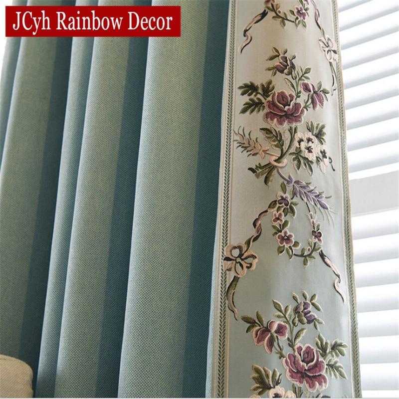 Cortinas opacas bordadas para sala de estar dormitorio cortinas chinas cortinas de tela persianas de tela cortinas de lujo para ventana