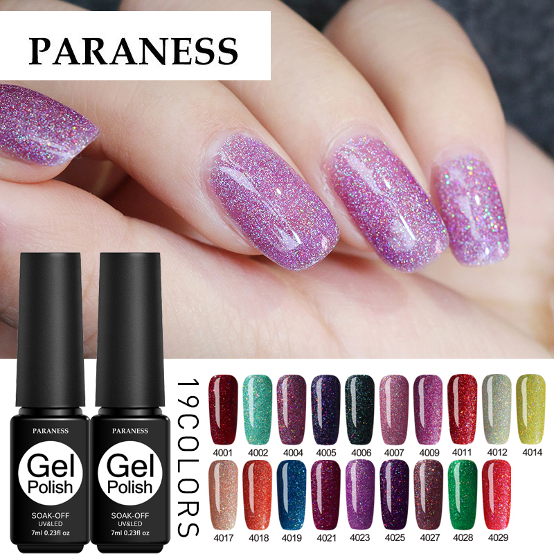 Pintura Paraness Gel esmalte uñas arte DIY brillo neón UV Gel polaco Color brillante UV Gel barniz uñas laca lámpara Gelpolish