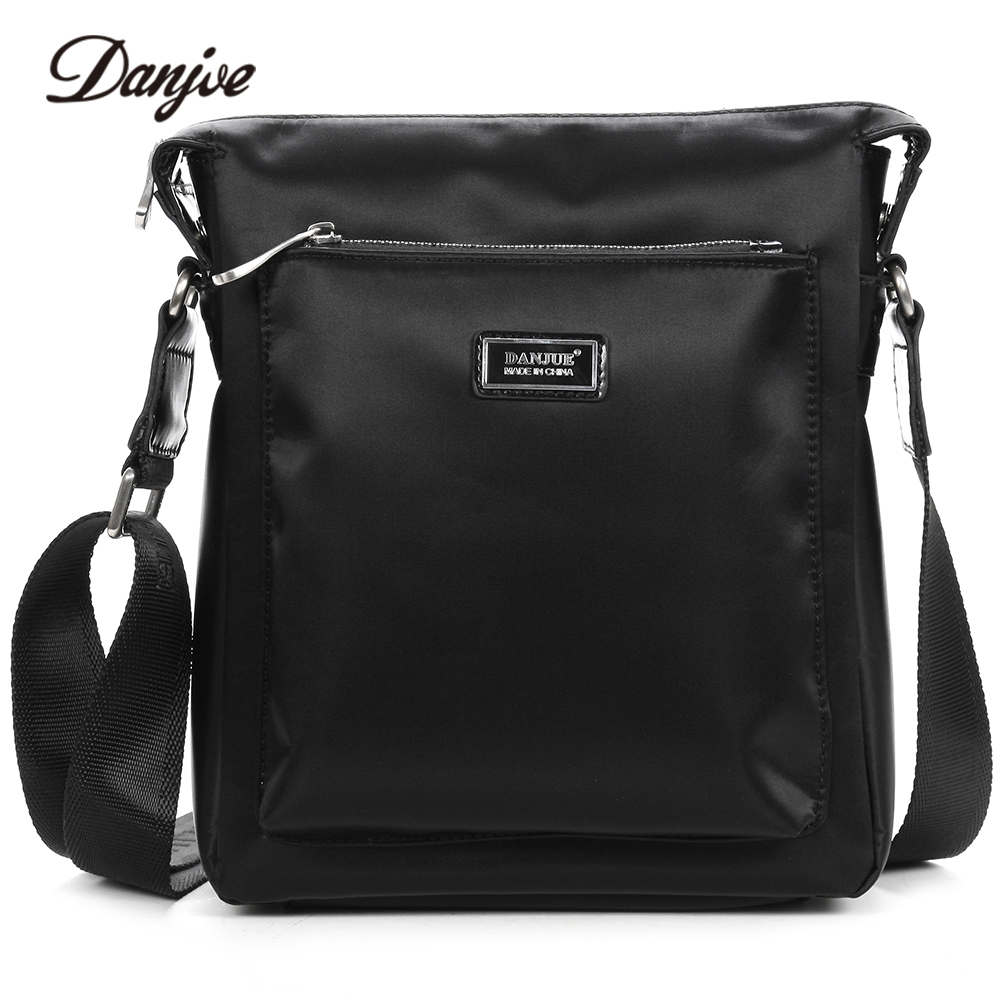 DANJUE New High Quality Oxford Cloth Messenger Bag Male Casual Crossbody Bag Men Classic Black Men Bag Leisure Shoulder Bag augur new men crossbody bag male vintage canvas men s shoulder bag military style high quality messenger bag casual travelling