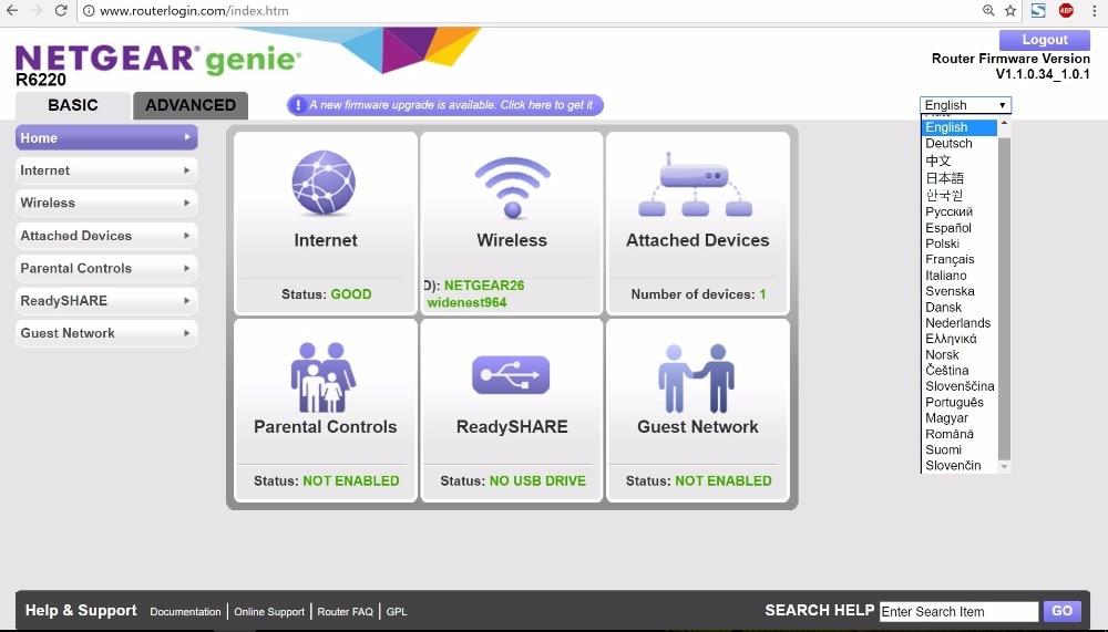 US $9 98 |NETGEAR R2000 N300 Smart WiFi Router 802 11N 2 4G 300Mbps  Wireless Multi Language Firmware Smart App Control-in Wireless Routers from
