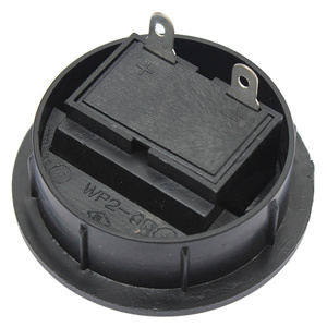 Image 3 - LEORY 2 Pcs Speaker Terminal Board 2 Way Binding Post Terminal Cup Round Spring Clip