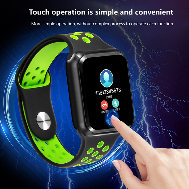 S226 Sports smart watches IP67 Waterproof Smart Bracelet 15 days long standby  Heart Rate Monitor Blood Pressure Pedometer watch 2