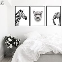 Top Selling Animal Canvas Painting Wall Art Picture for Living Room Art Poster Decoration Picture No Frame Modern Print Wall(China)