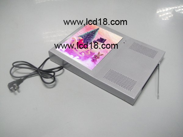 10.4 inch music advertising  player for wall building