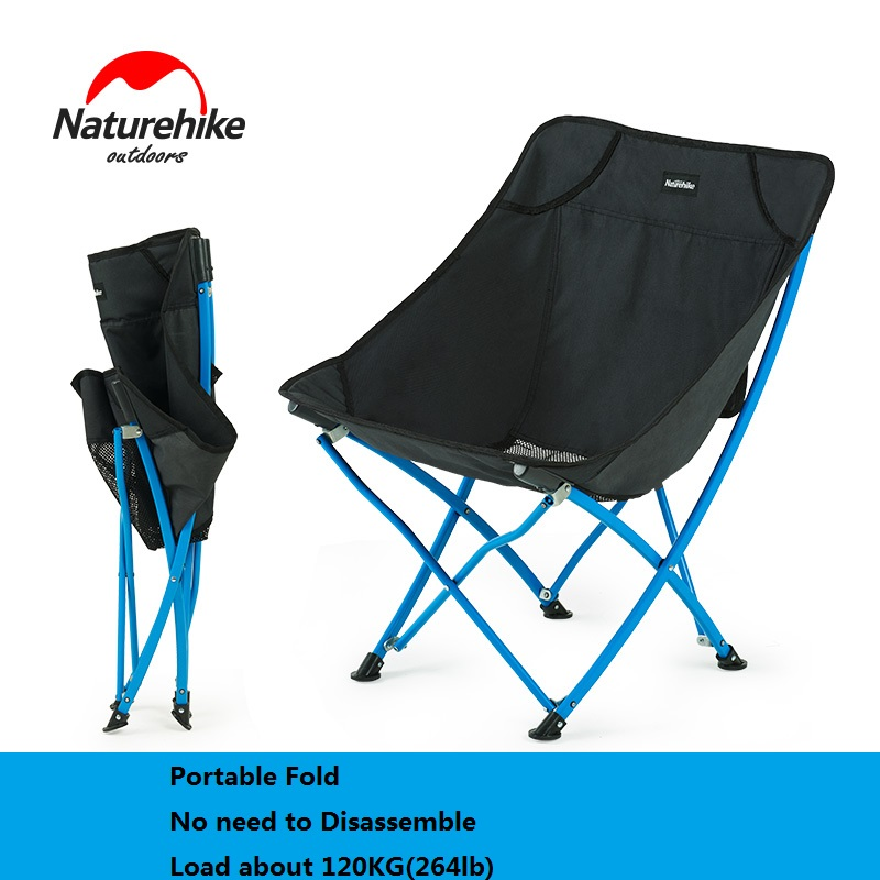 NatureHike Fishing Chair Portable folding Chair Camping Hiking Gardening Barbecue backrest chair Folding Stool naturehike fishing chair portable folding chair for camping hiking gardening beach barbecue with bag