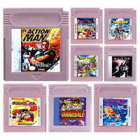 16 Bit Video Game Cartridge Console Card ACT Action Game Series English Language Edition winner wr 8166