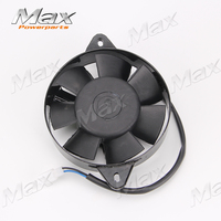 Oil Cooler Water Cooler New Electric Radiator Cooling Fan For 200 250 cc Chinese ATV Quad Go Kart Buggy Dirt Bike dropshipping