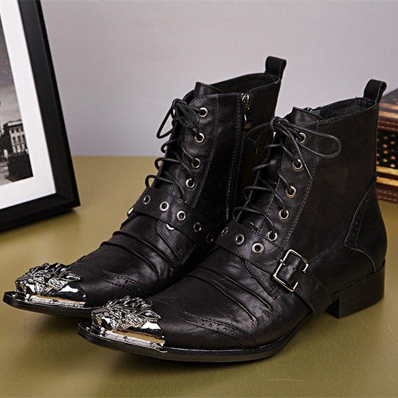 Online Get Cheap Men Cowboy Boots -Aliexpress.com | Alibaba Group