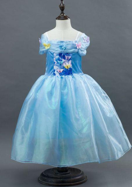 Mädchen schmetterling Cinderella Kleider Kinder Prinzessin Kleid up ...