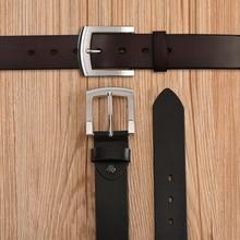 Vintage Genuine Leather Pin Buckle Belt For Men