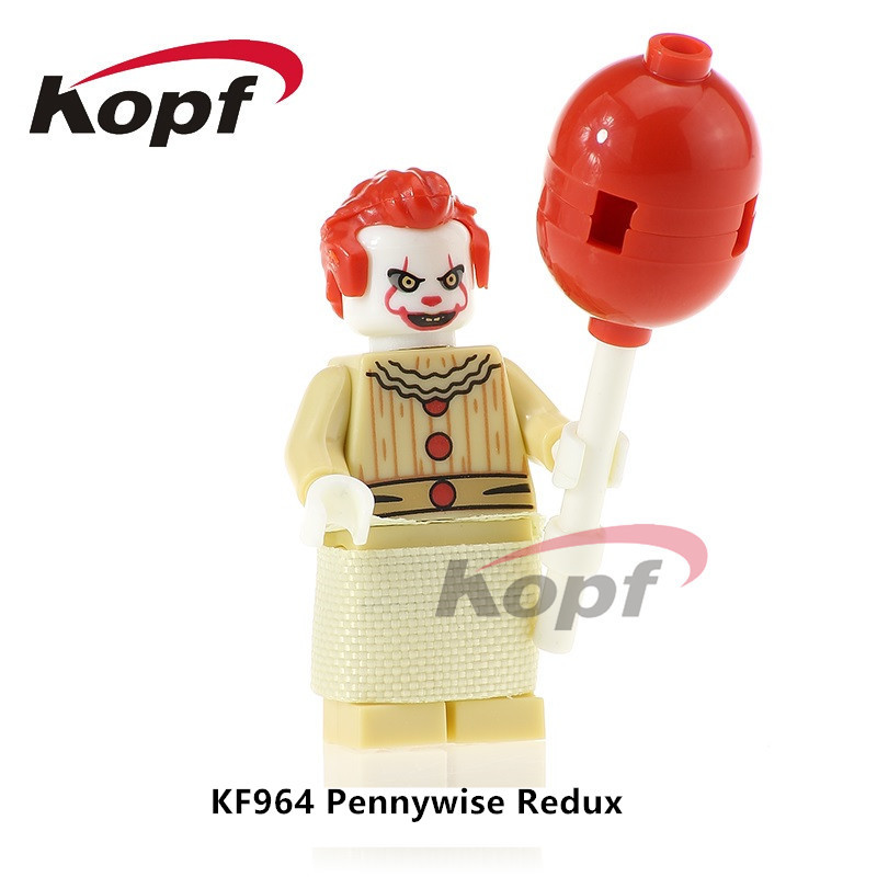 KF964 Super Hereos The Clown Pennywise Redux Classic Mr. Kentucky Bricks Building Blocks Action Learning Gift Toys for children the quality of accreditation standards for distance learning