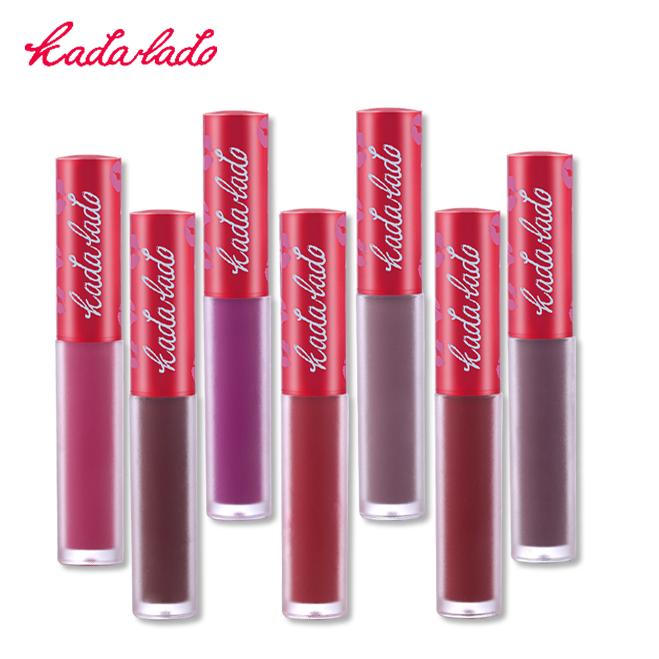 Brand Waterproof Long Lasting Nude Matte Liquid Lipstick Mate Lip Gloss Makeup Lime Kit Lipstick Pencil Cosmetics Set image