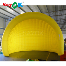 5xH3.6 m Giant Inflatable Advertising Tent with Air Blower for Exhibition Trade Show Business Rent