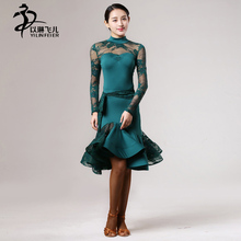 NEW Latin salsa Cha cha Tango Ballroom Dance Dress Top & Skirt