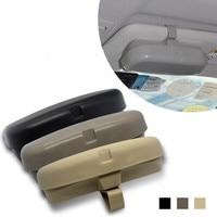 Autoverschluss ABS Auto-Styling Fahrzeug Sonnenblende Brille Brillen Holder Karte Ticket Pen Clip Kfz-zubehör