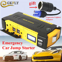 52000mAh Car Jump Starter High Power Capacity Battery Auto Charger Petrol And Diesel Vehicle Engine Booster