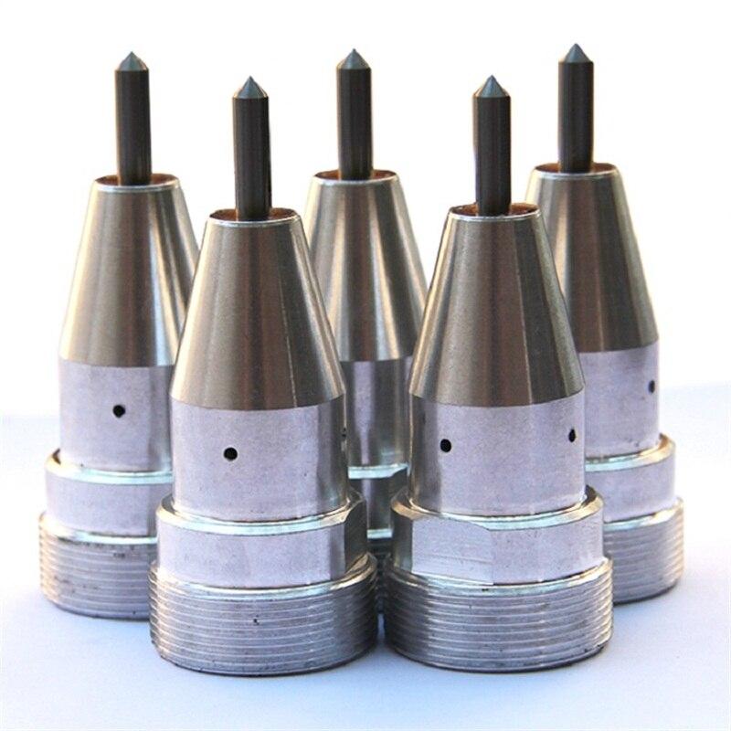 Testa pneumatica dell'incisione delle componenti dell'ago della - Attrezzature per la lavorazione del legno - Fotografia 4