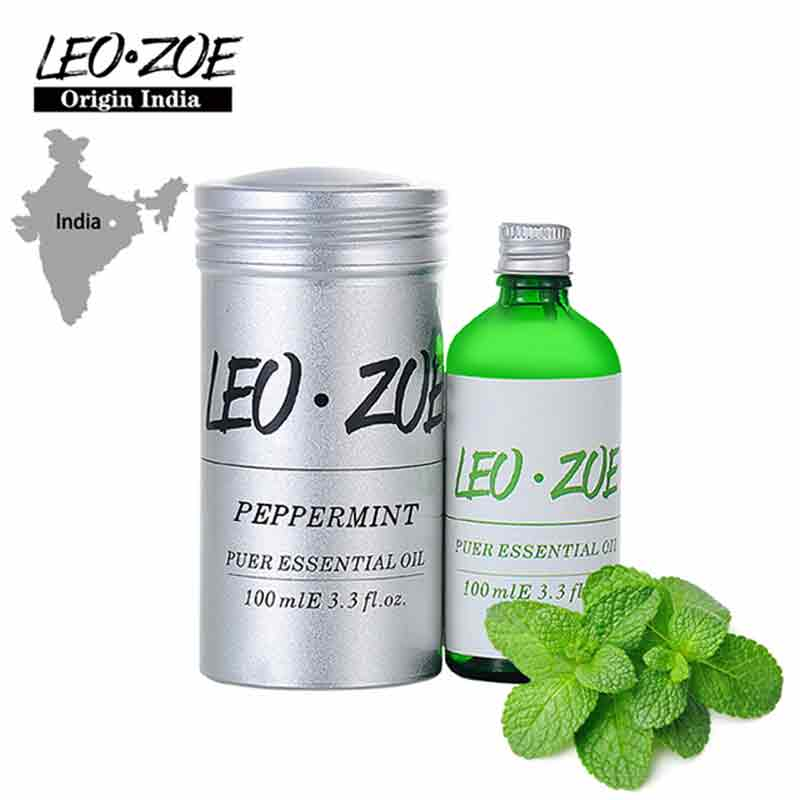 Leozoe Peppermint Essential Oil Certificate Of Origin India High Quality Aromatherapy Peppermint Oil 100ML Aceite Esencial well known brand leozoe clary sage essential oil certificate of origin russia high quality aromatherapy clary sage oil 30ml