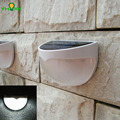 Solar Powered Led Night Light 6 LEDs Inside Battery Included Suitable for Home Roof Decor Auto On / Off When Dim / Dawn