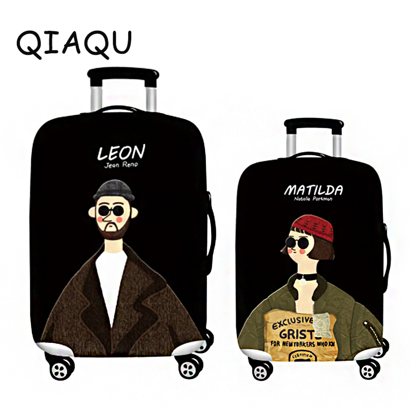 Valentines Day present Suitcase Luggage Elastic Case Covers For 19-32 Trolley Baggage Dust Protective Cover Travel AccessoriesValentines Day present Suitcase Luggage Elastic Case Covers For 19-32 Trolley Baggage Dust Protective Cover Travel Accessories