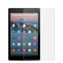 Buy 9H Full Covers Tempered Glass For Amazon Fire HD 10 2017 2015 10.1 inch Screen Protector Film Protective Glass Guard directly from merchant!