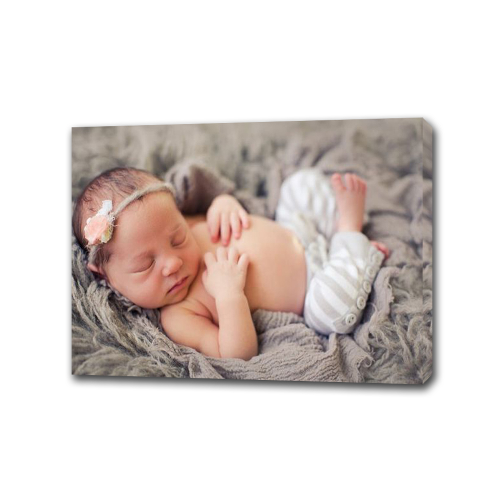 Costume Newborn Foto Lembranças para a Arte Da Lona Para A Decoração Home Da Parede