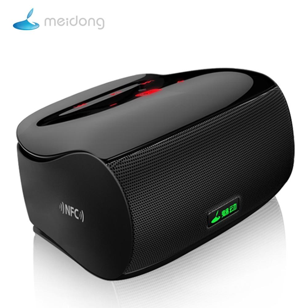 Meidong Miniboom Wireless Bluetooth Speaker Subwoofer Mini Stereo Portable Speaker Super Bass