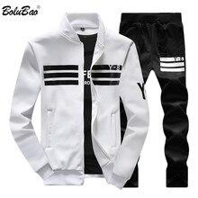 BOLUBAO, осенний мужской комплект, качественная флисовая толстовка+ штаны, мужской спортивный костюм, спортивные костюмы, мужские спортивные комплекты