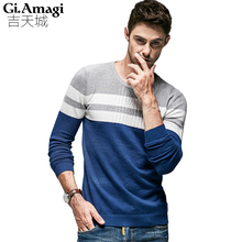 Plus Size M-5XL Sweater Man Knitted Winter Warm Pullovers O-neck Long Sleeve Standard Sweaters Male Jumper